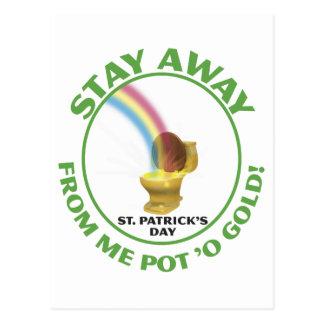 Pot 'o Gold Postcard