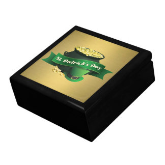 Pot of Gold and Leprechaun Hat Gift Box