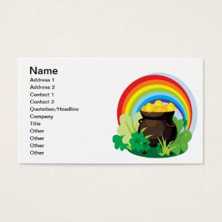 Pot Of Gold Business Card