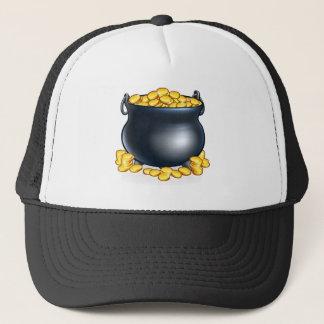 Pot of Gold Coins Trucker Hat