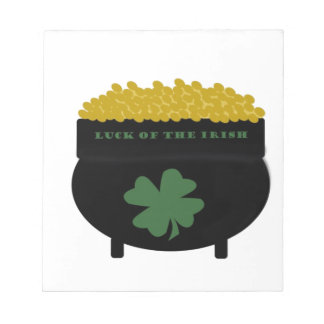 Pot Of Gold Notepad