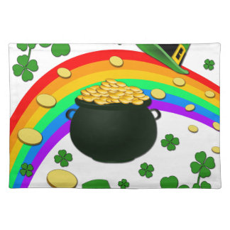 Pot of gold placemat
