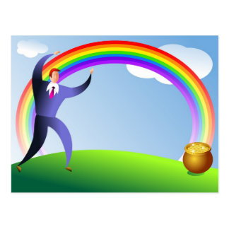 Pot of Gold Postcard
