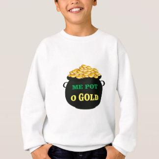pot of gold treasure pot sweatshirt