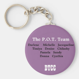 Pot Team Keychain