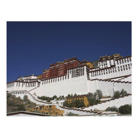 Potal Palace in Lhasa, Tibet. Postcard
