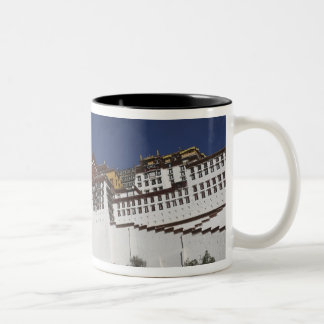 Potal Palace in Lhasa, Tibet. Two-Tone Coffee Mug