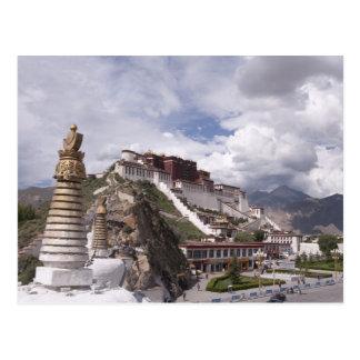 Potala palace in Tibet Postcard