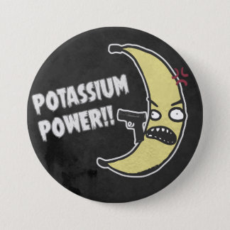 Potassium Power 3 Inch Round Button