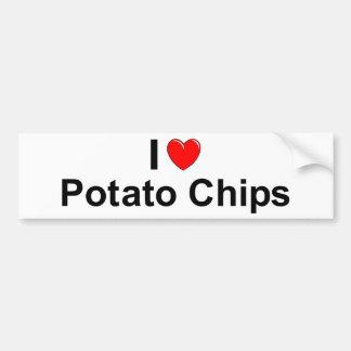 Potato Chips Bumper Sticker