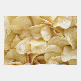 Potato chips junk food gifts kitchen towel