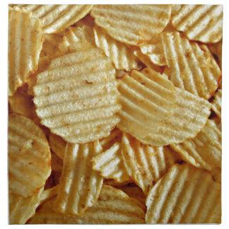 Potato Chips Snack Food Napkin