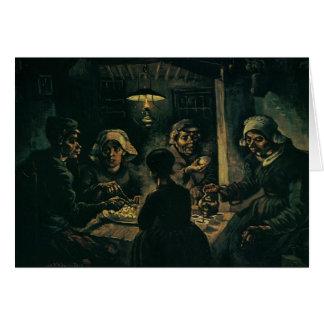 Potato Eaters, The Card