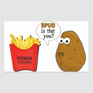 Potato French Fries is that you? Sticker