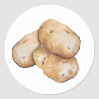 Potato Garden Label