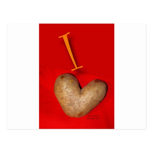 Potato Love Postcard