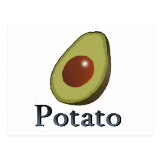 Potato Postcard