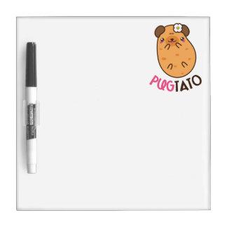 Potato Pugtato Dry Erase Board
