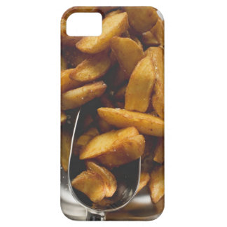 Potato wedges with salt (detail) iPhone 5 case
