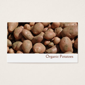 Potatoes business card