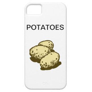 Potatoes iPhone 5 Covers