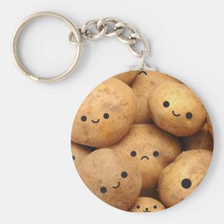 Potatoes Keychain