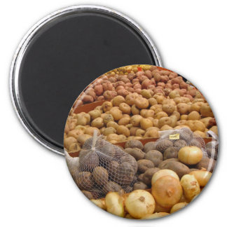 Potatoes of Peru Magnet