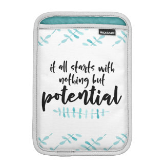 Potential Quote iPad Mini Sleeve