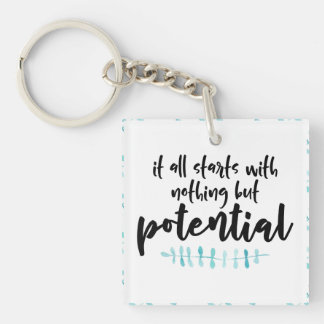 Potential Quote Keychain