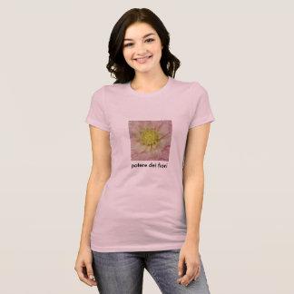 """Potere dei fiori """"Flower Power"""" T-Shirt"""