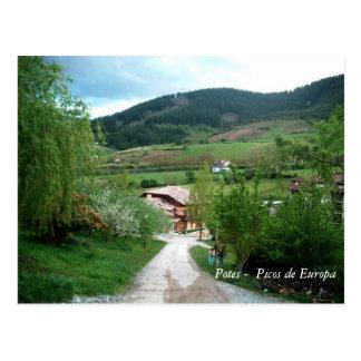 Potes -  Picos de Europa Postcard