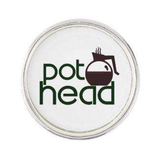 Pothead Lapel Pin