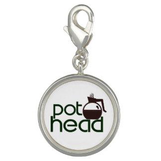 Pothead Photo Charm