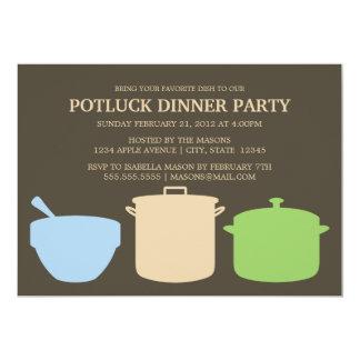 Potluck Dinner | Party Invite