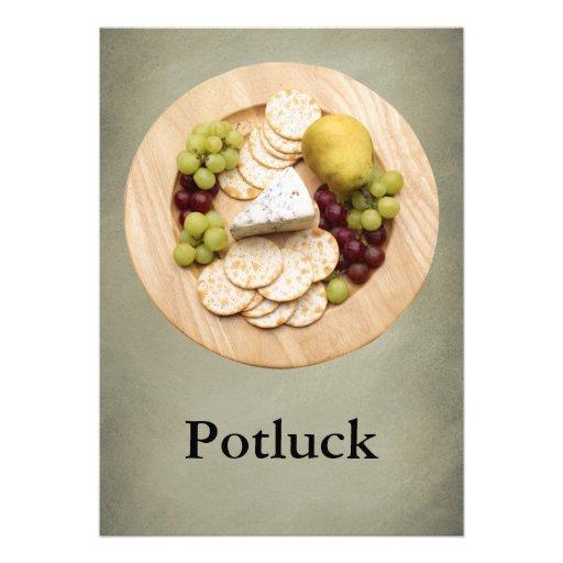 Potluck Custom Invitation