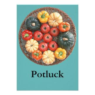 Potluck Custom Invites