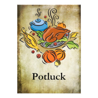 Potluck Custom Announcements