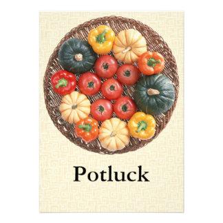 Potluck Personalized Invitation