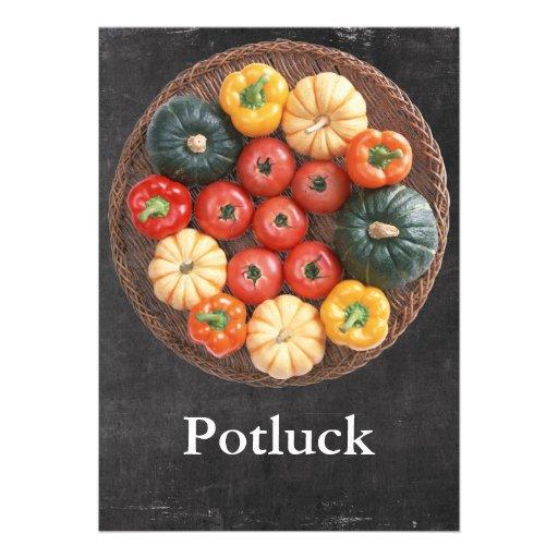 Potluck Custom Invitations
