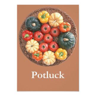 Potluck Custom Invite