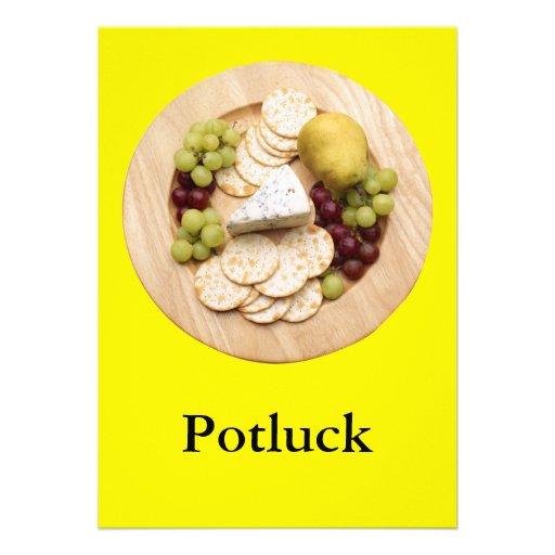 Potluck Announcements