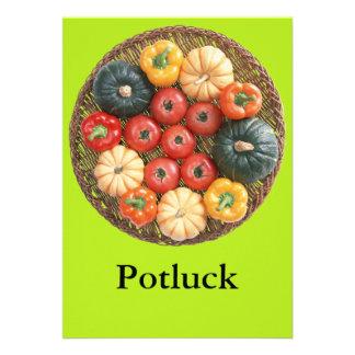 Potluck Custom Announcement