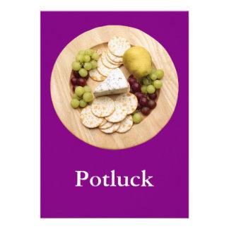 Potluck Personalized Invite