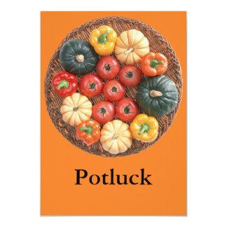 Potluck Invitation