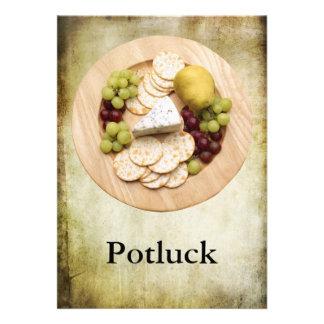 Potluck Personalized Announcement