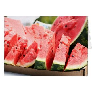 Potluck Watermelon Card