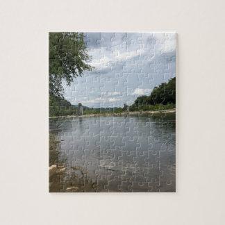 Potomac River through Harpers Ferry, WVA Jigsaw Puzzle