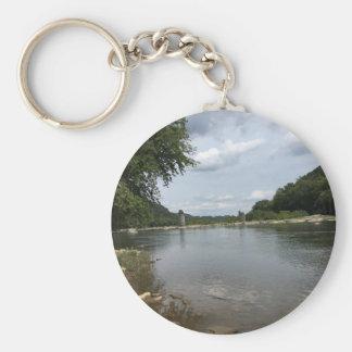 Potomac River through Harpers Ferry, WVA Keychain