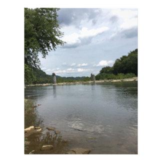 Potomac River through Harpers Ferry, WVA Letterhead