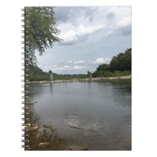 Potomac River through Harpers Ferry, WVA Notebook
